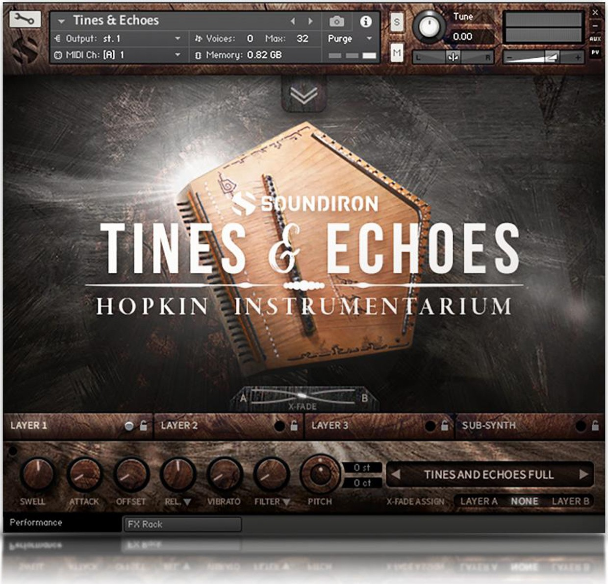 Tines & Echoes GUI