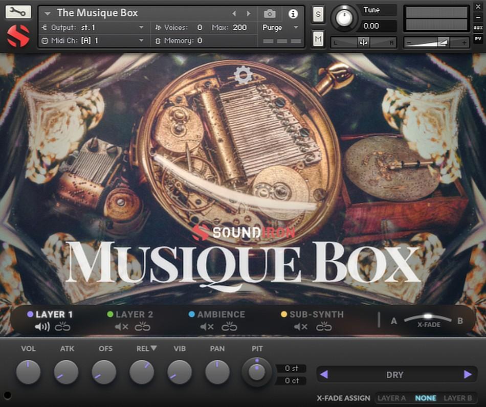 Musique Box gui