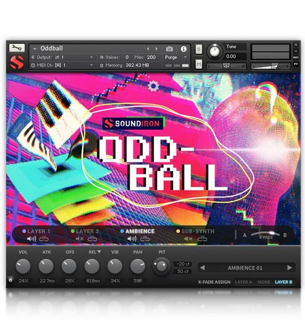 Oddball GUI Screen