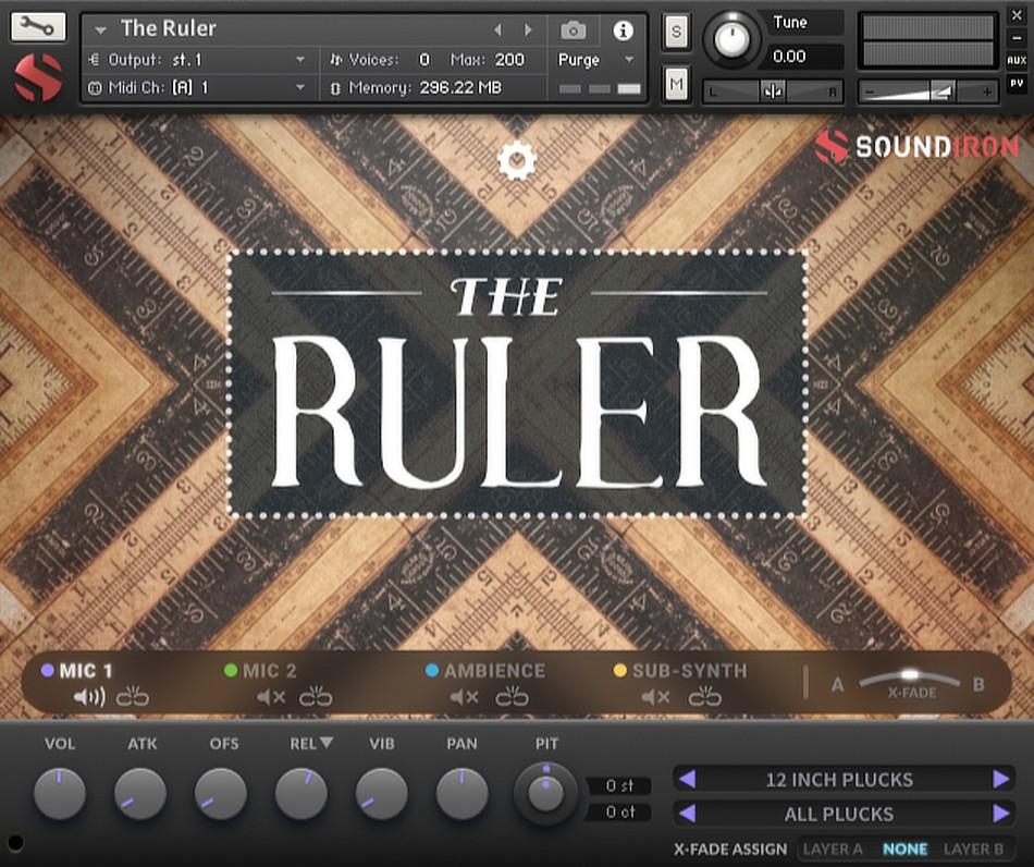 The Ruler GUI