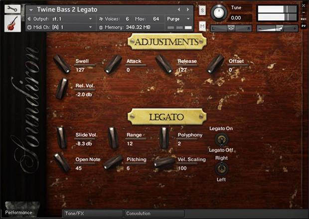 TwineBass GUI 1