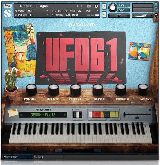 UFO GUI Screen