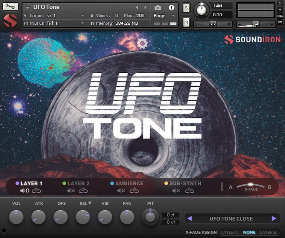 Soundiron UFO Tone gui