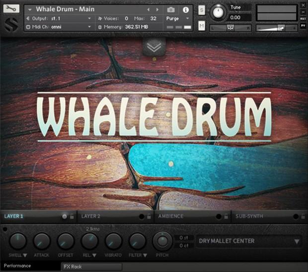 Whale Drum Gui