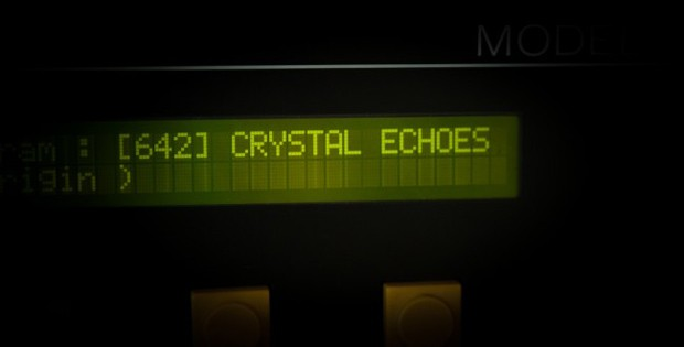 Crystallizer Echoes Screen