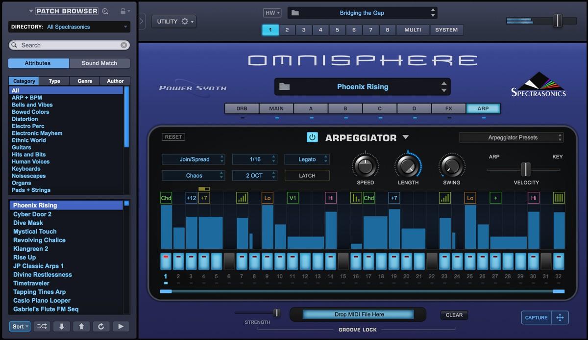 Omnisphere 2 ARP GUI