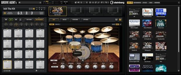 Groove Agent GUI Screen