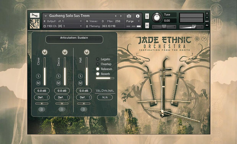 Jade Ethnic Orchestra GUI