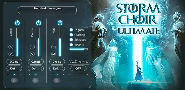 Storm Choir Ultimate Legato GUI