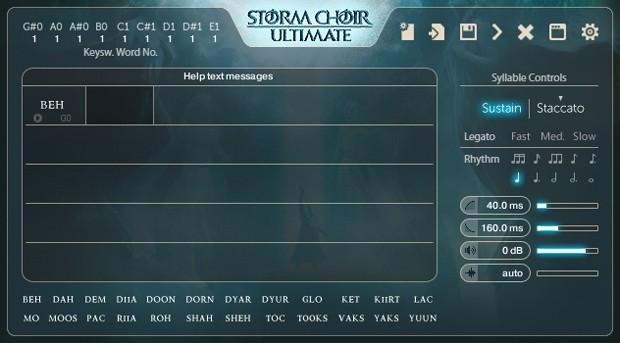 Storm Choir Syllabuilder GUI