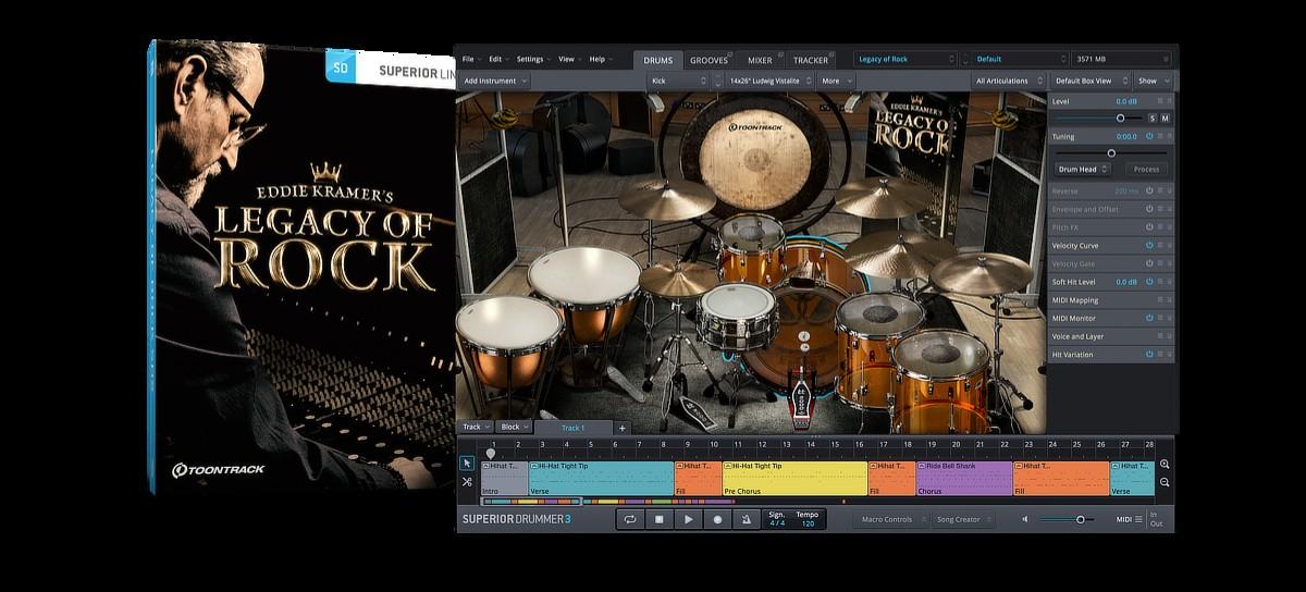 SDX Legacy of Rock Banner