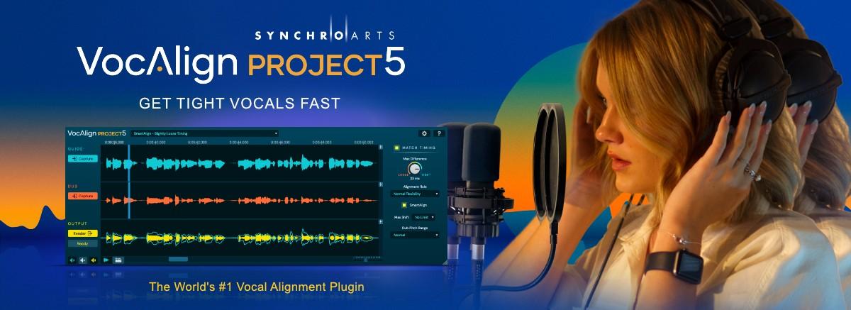VocAlign Project 5 Header