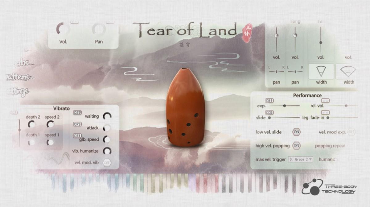 Tear of Land GUI
