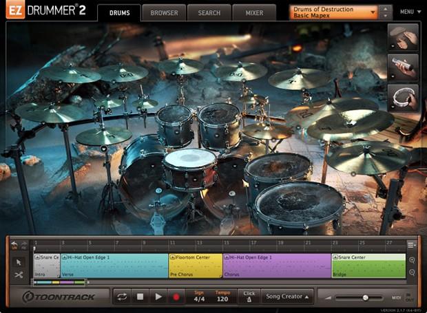 EZ Drummer 2 Gui