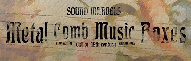 Metal Comb Music Boxes Header