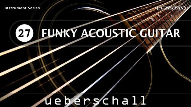 Funky Acoustic Guitar Header