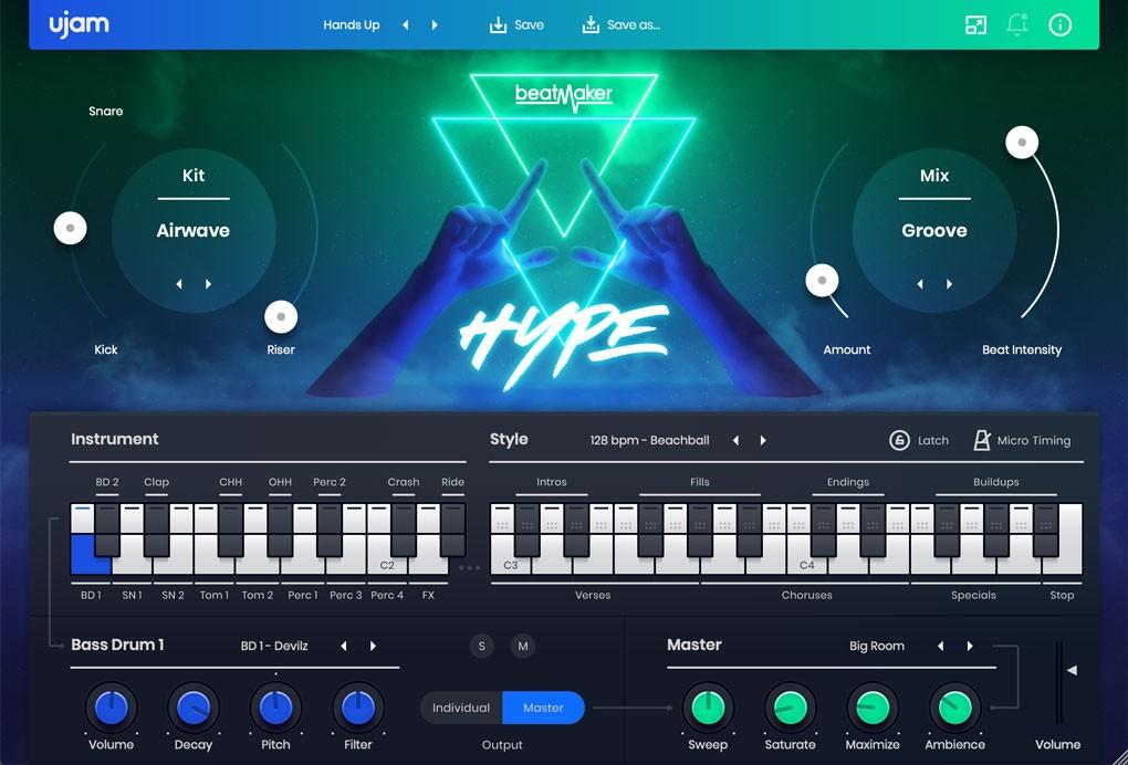 BeatMaker HYPE GUI