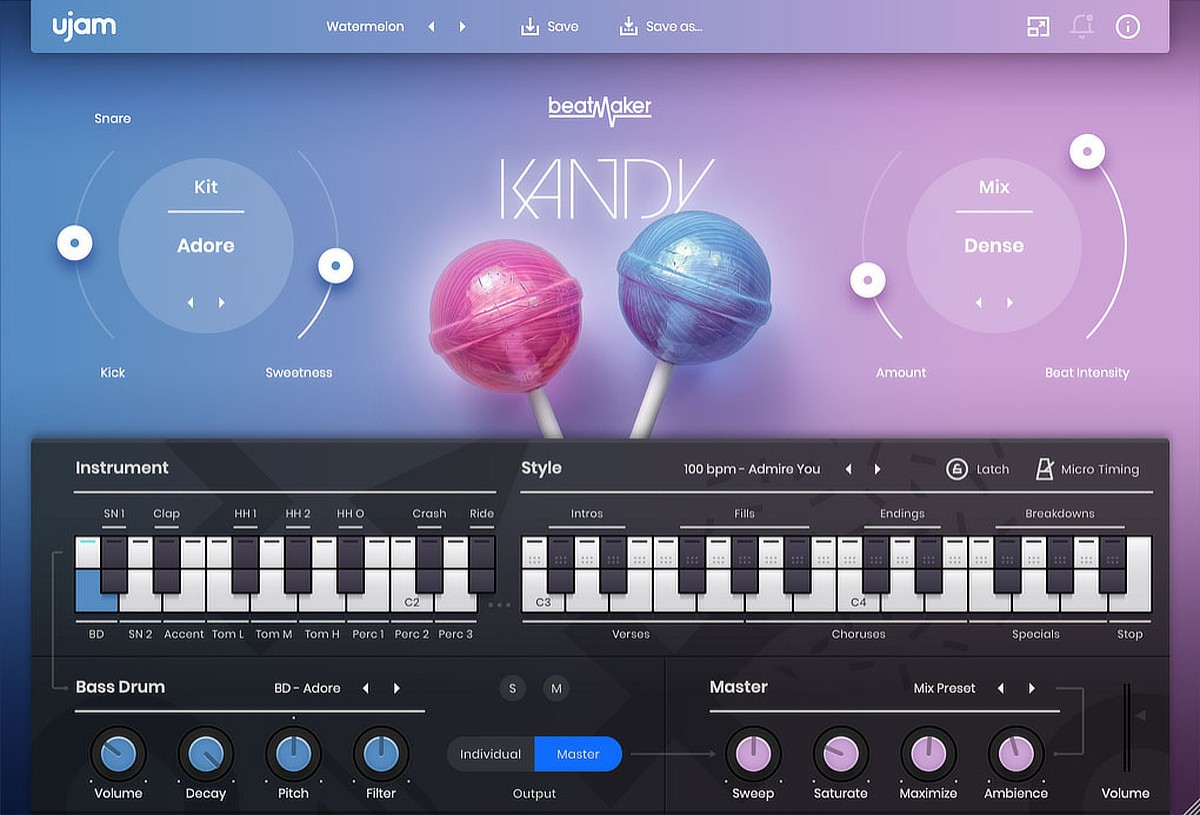 BeatMaker Kandy GUI