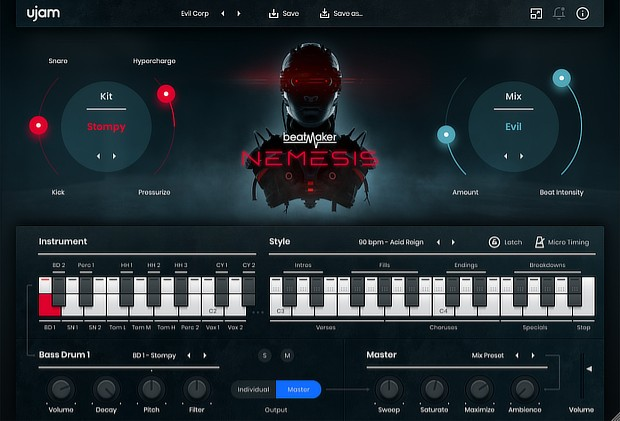 BeatMaker Nemesis GUI