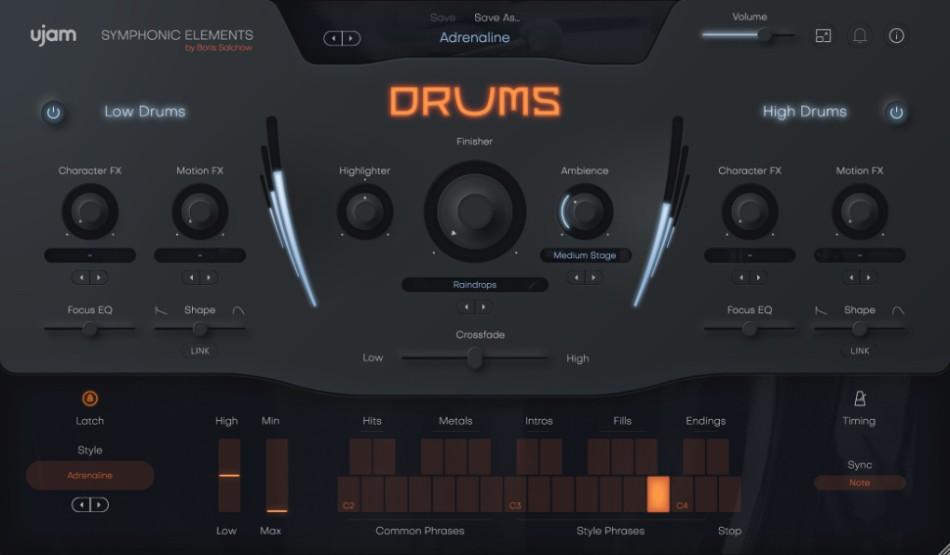 Drums gui