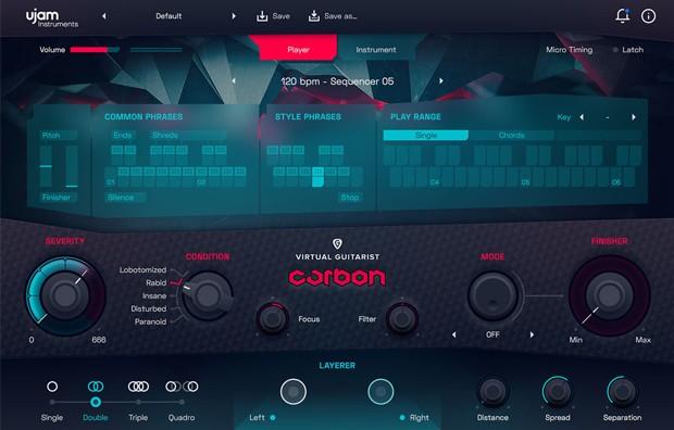Carbon GUI