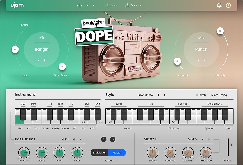 BeatMaker Dope 2 GUI