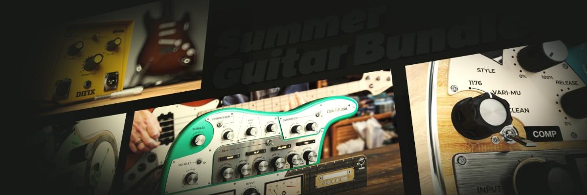 Guitar Summer Bundle Banner