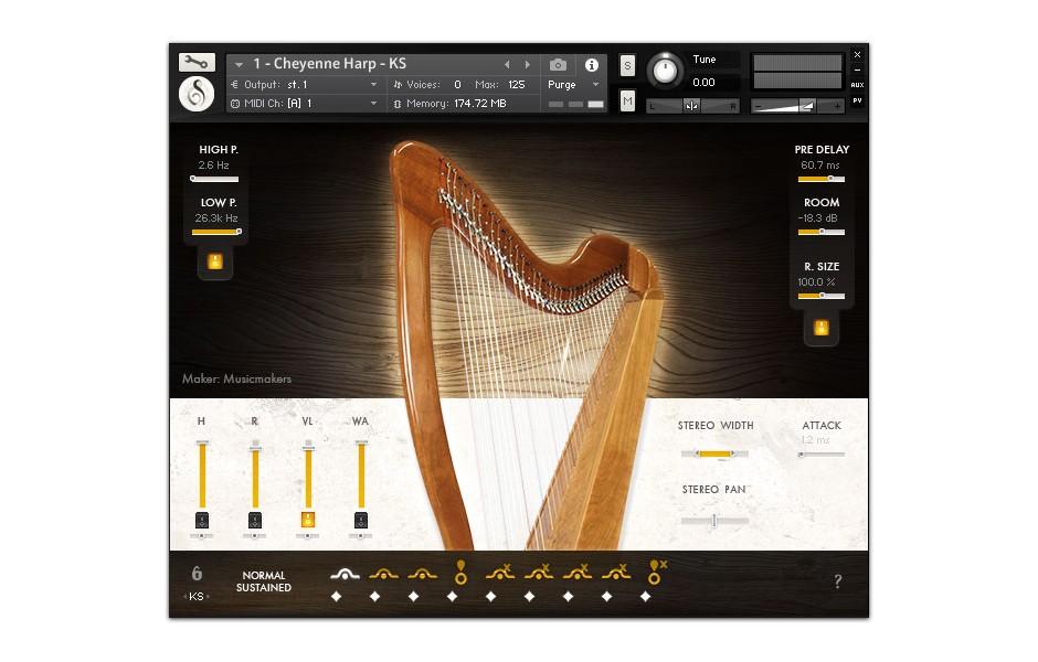 Musicmakers Volume 1 GUI