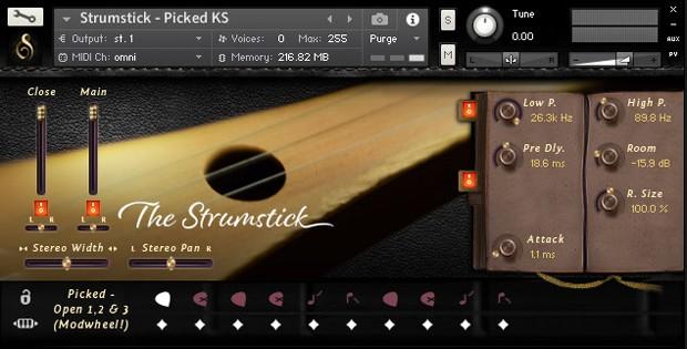 Strumstick GUI