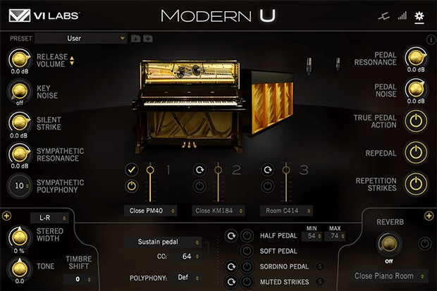Modern U GUI Screen