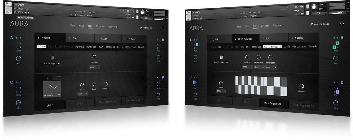 Aura FX GUI
