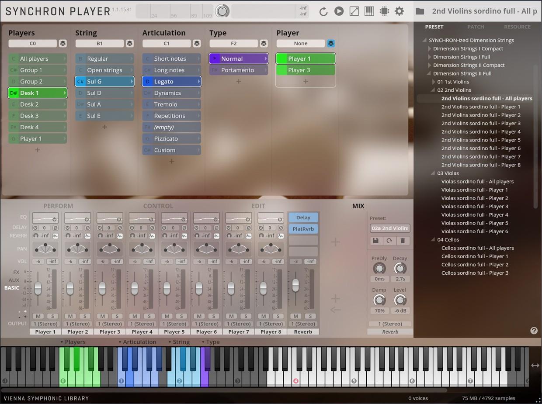 Synchro Dimension II GUI