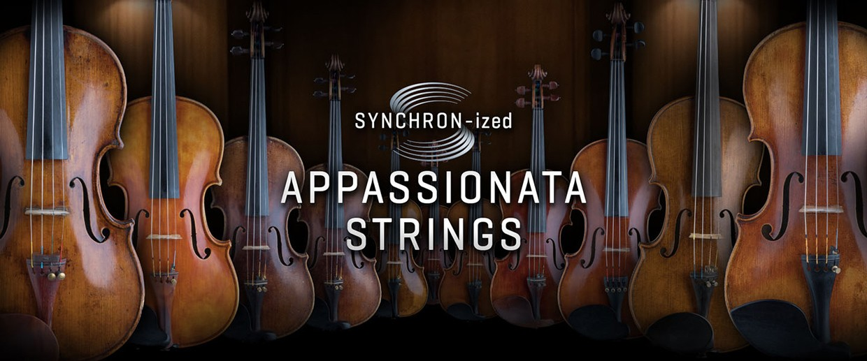 Synchron Appasionata Strings Banner