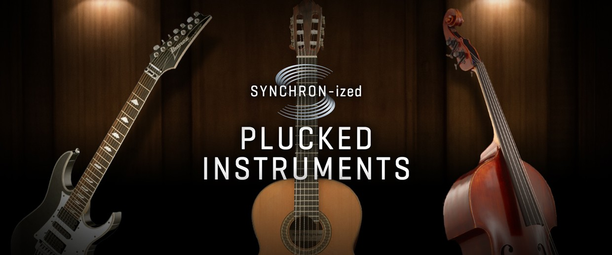 Synchronized Plucked Instruments