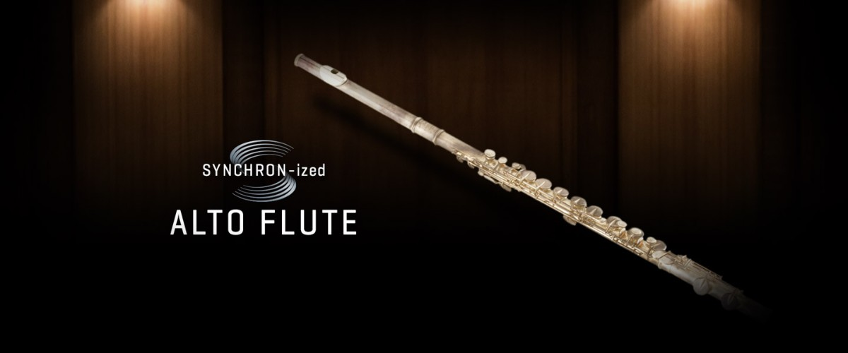 SYNCHRON-ized Alto Flute Banner