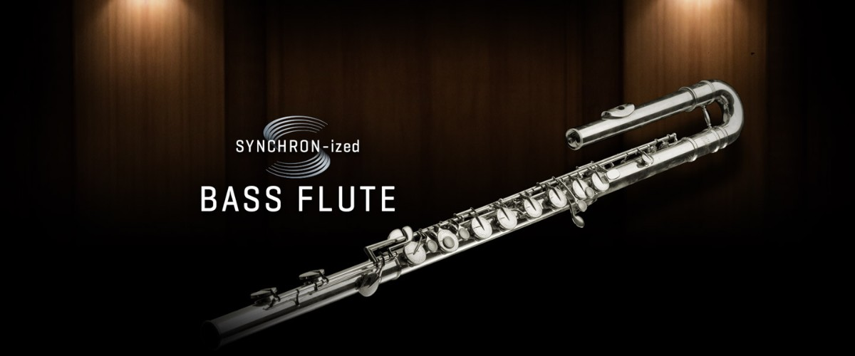 SYNCHRON-ized Bass Flute Banner