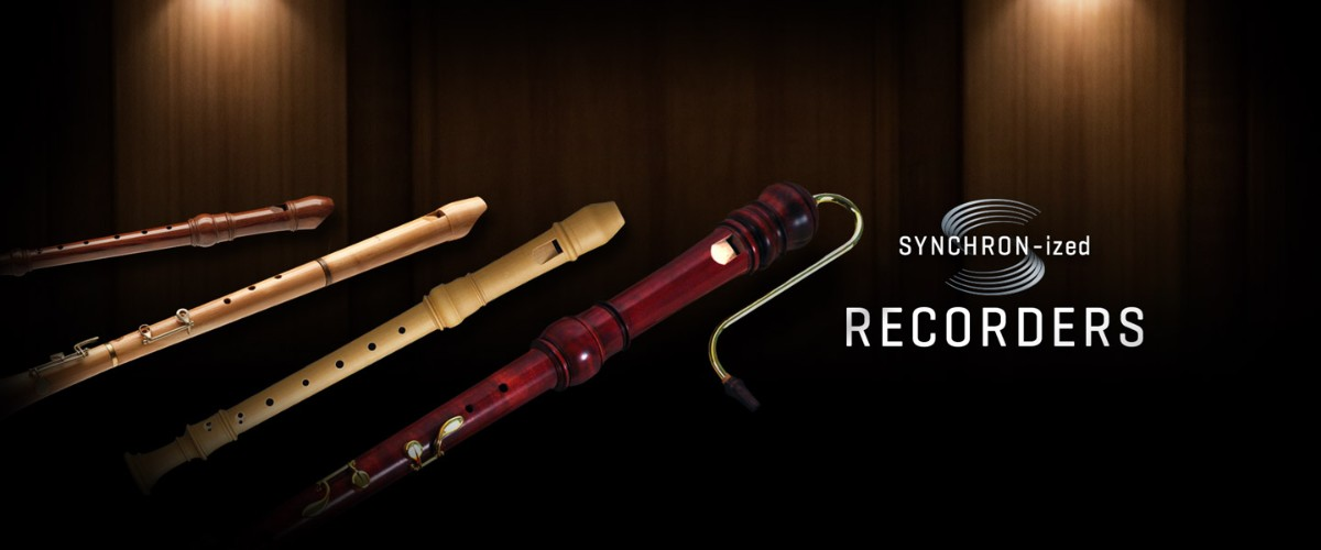 SYNCHRON-ized Recorders Banner