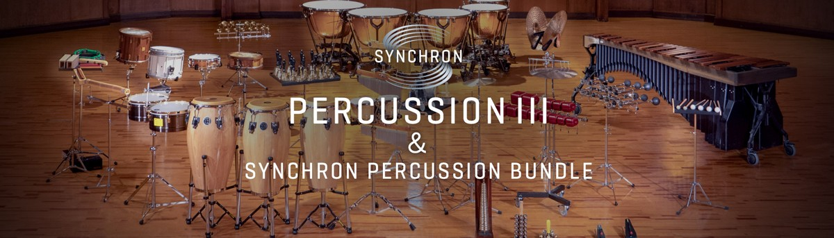 Synchron Percussion III Banner