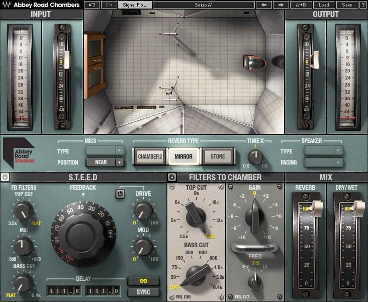 Abbey Road Chambers GUI Screen 2