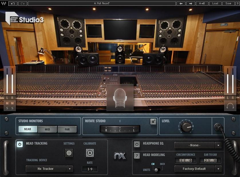 Abbey Road Studio 3 GUI