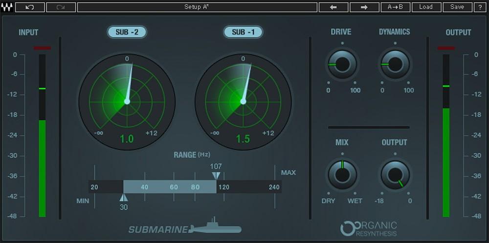 Submarine GUI