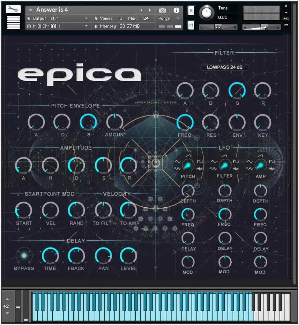 Zero-G Epica Redux Gui