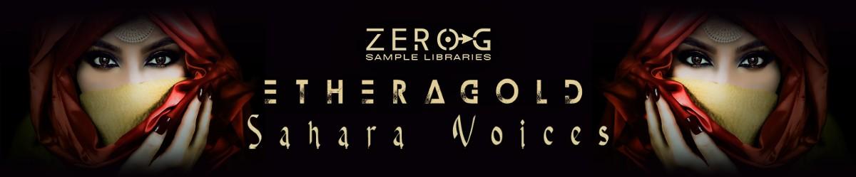 Ethera Gold Sahara Voices Banner