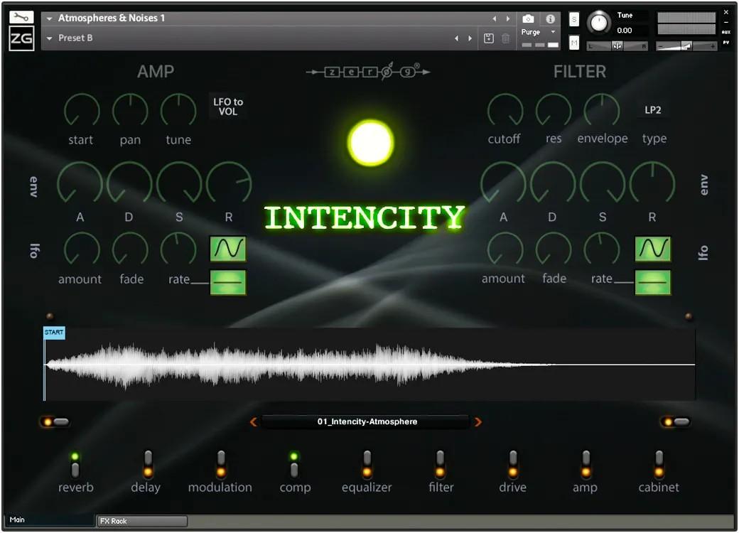 Intencity GUI