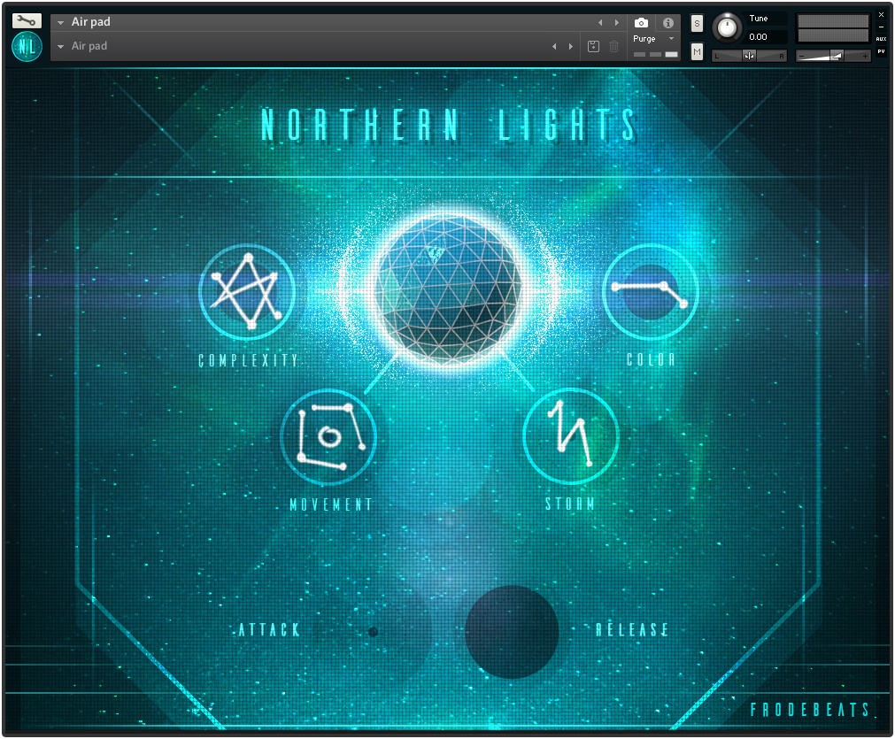 Northern Lights PAd Machine Interface