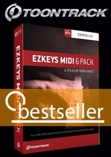 Toontrack EZ Keys 6pack bundle