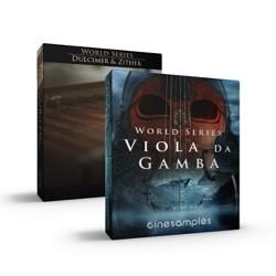 Dulcimer & Zither & Viola da Gamba Bundle