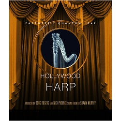 Hollywood Solo Harp Gold