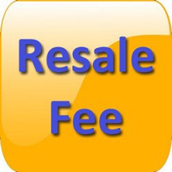 Resale Registration Fee