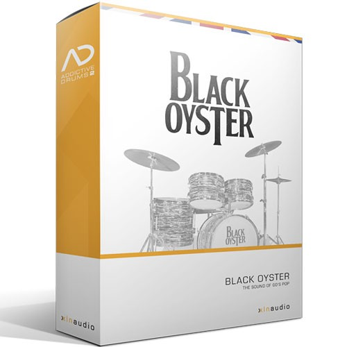 Addictive Drums 2 Black Oyster